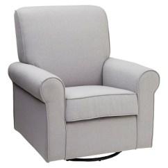 Delta Avery Nursery Glider Chair Grey Ciao Baby Folding Portable High Children Swivel Rocker Target