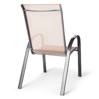 target sling chair tan chairs for bedroom stack patio threshold 1 more