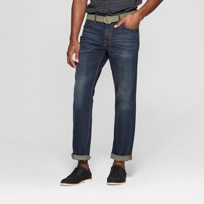 Men's Bootcut Jeans - Goodfellow & Co™ Dark Blue