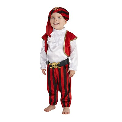 Pirate Commander Baby Costume