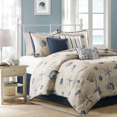 Rockaway Cotton Printed Comforter Set