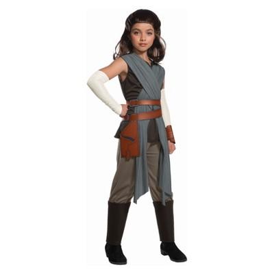 Girls' Star Wars Episode VIII Rey Halloween Costume