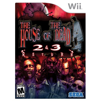 The House Of The Dead 2 And 3 Return Nintendo Wii Target