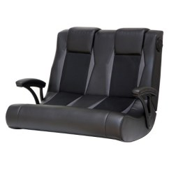 Rocker Es Game Chair Stanley Company 2 1 Wired Dual Gaming Black X Target