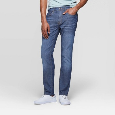 Men's Regular Slim Fit Jeans - Goodfellow & Co™ Medium Blue