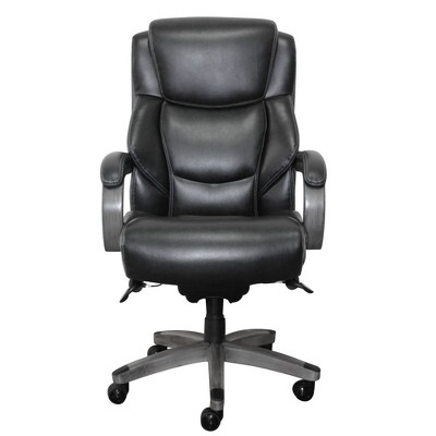 la z boy big tall executive leather office chair black covers hire near me delano bonded target