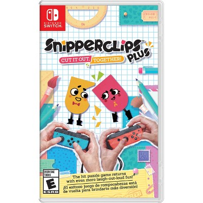 Snipperclips Plus Cut It Out Together Nintendo Switch Target