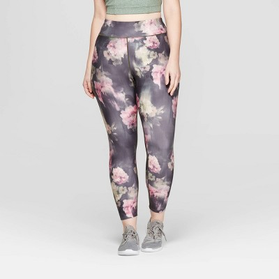 Women's Plus Size Performance Mid-Rise 7/8 Printed Leggings  - JoyLab™