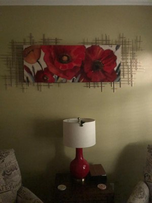 Mid Century Metal Wall Décor Gold 36x30 Project 62 Target