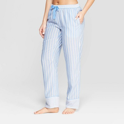 Women's Striped Simply Cool Pajama Pants - Stars Above™ Blue