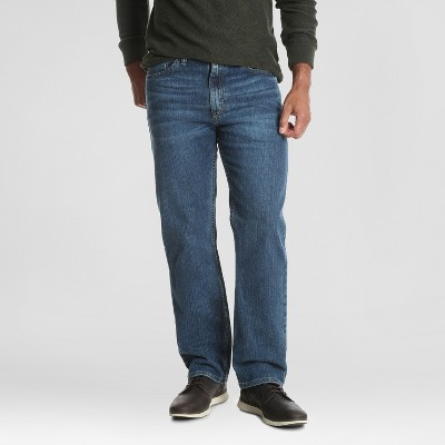 Wrangler Men's Regular Straight Fit Jeans - Pacific Blue