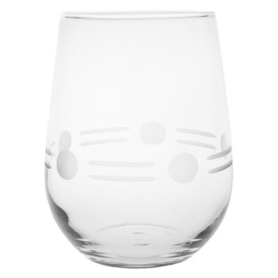 17oz 4pk Boogie Stemless Wine Glasses - Rolf Glass