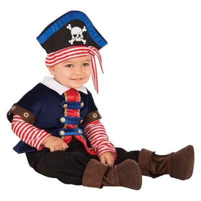 Baby Pirate Boy Halloween Costume 0-6M