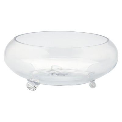 Glass Decorative Bowl - Diamond Star