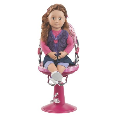doll salon chair folds into bed our generation sitting pretty target