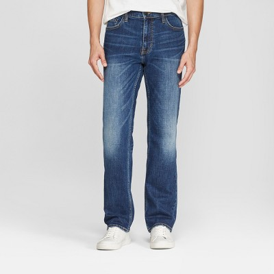 Men's Straight Fit Jeans - Goodfellow & Co™ Medium Wash