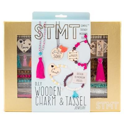 STMT Wooden Charm and Tassel Craft Kit