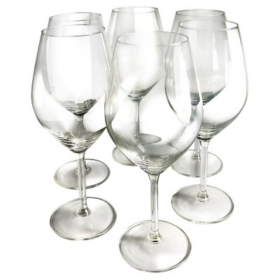 Epicureanist Illuminati Red Wine Glasses 21oz (Set of 6)