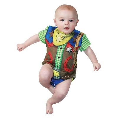 Kids' Baby Cowboy Romper Costume