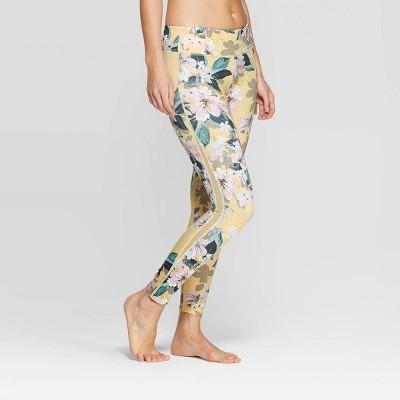 Women's Comfort Mid-Rise Printed 7/8 Leggings - JoyLab™