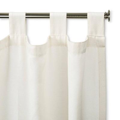 steel door curtain rod target