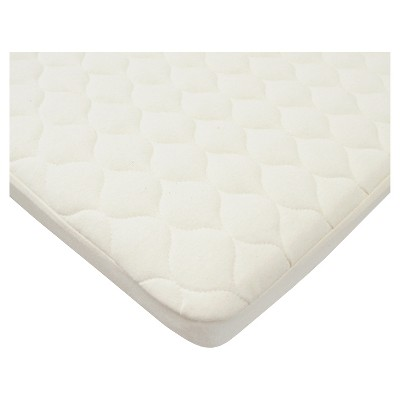 TL Care® Organic Cotton Waterproof Quilted Pack n' Play Playard Mattress Cover - Natural