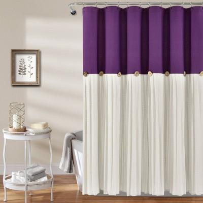 purple shower curtains target
