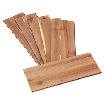 Household Essentials Cedar Shelves - 10pc