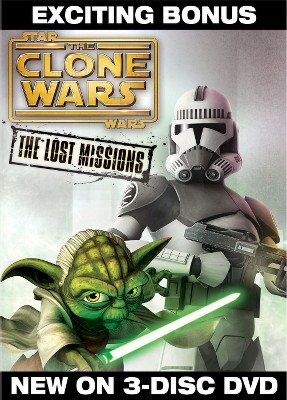 Star Wars: The Clone Wars - The Lost Missions [3 Discs]