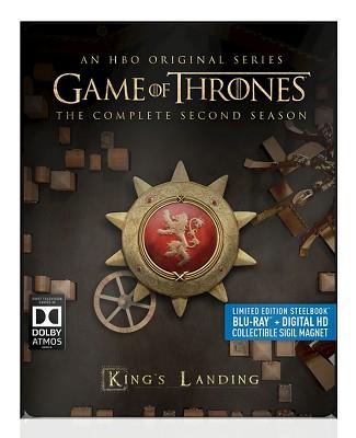 Game of Thrones: Season 2 Steelbook Blu-ray