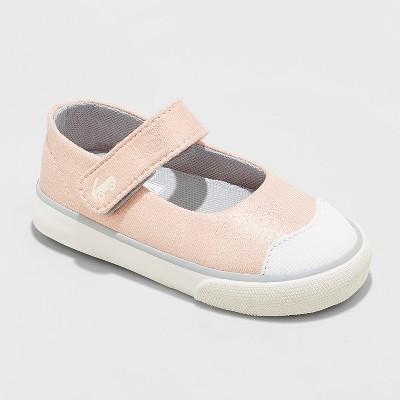 Toddler Girls' See Kai Run Basics Emily Rose Shimmer Mary Jane Shoes - Rose Gold