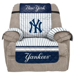 Recliner Chair Covers Target Low Sitting Mlb New York Yankees Slipcover