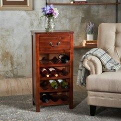 Can You Put A Wine Rack In Living Room Colour Schemes With Grey Carpet Eirinn Dark Oak Christopher Knight Home Target