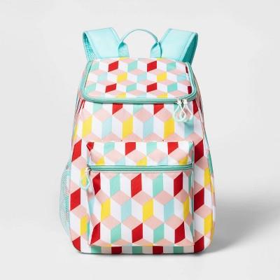 Backpack Cooler Geo Print - Sun Squad™