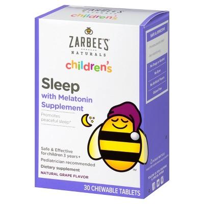 Zarbee's Naturals Children's Sleep With Melatonin Chewable ...