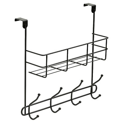 Over-the-Door Basket Hook Rail - Black - Room Essentials™