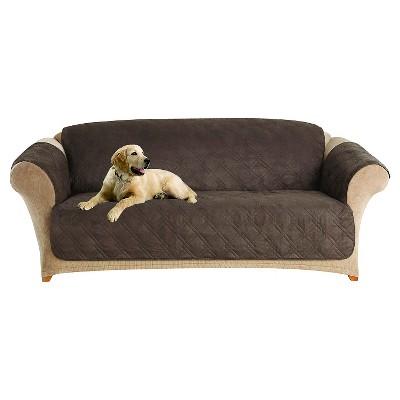 Furniture Friend Microfiber Nonskid Sofa Pet Cover - Sure Fit