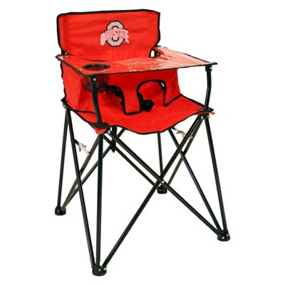portable high chair baby white plastic chairs for wedding ciao ohio state buckeyes in red target about this item details shipping returns q a highchair