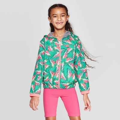 Girls' Reversible Bomber Jacket - Cat & Jack ™ Green