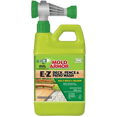 deck fence and patio wash mold armor