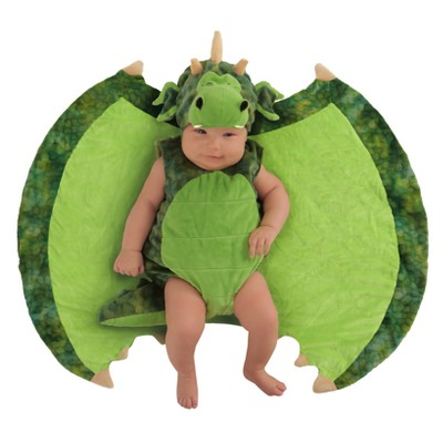 Toddler Kids' Swaddle Wings Darling Dragon Costume 0-3M