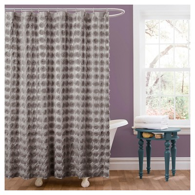 Emma Shower Curtain - Lush Décor