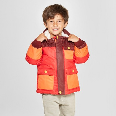 Toddler Boys' Softshell Jacket - Cat & Jack™ Red