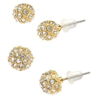Fireball Duo Earrings - Gold : Target