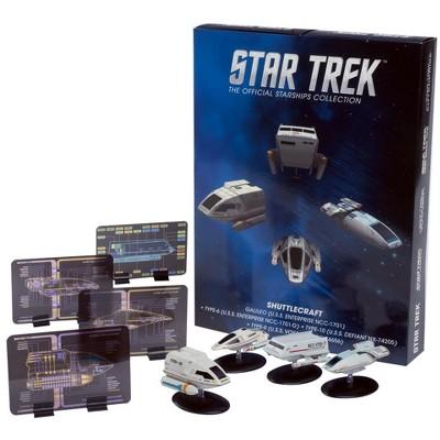 Star Trek Eaglemoss Ships: Shuttlecraft 4-Pack