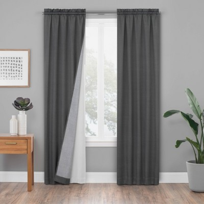 white blackout curtain liner target