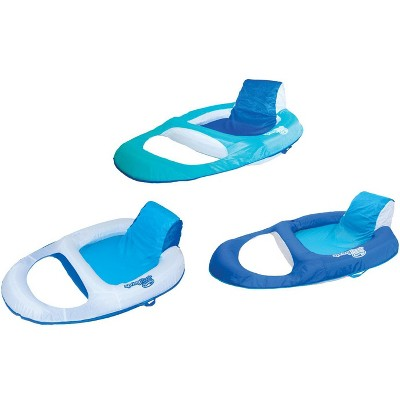 pool chair floats target joovy nook high reviews swimways spring float recliner floating lounge 3 pack 13018