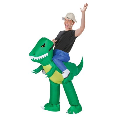 Dinosaur Rider Adult Inflatable Costume