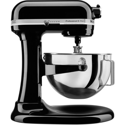 kitchen aid 5 qt mixer discount countertops kitchenaid professional 5qt black kv25g0x target