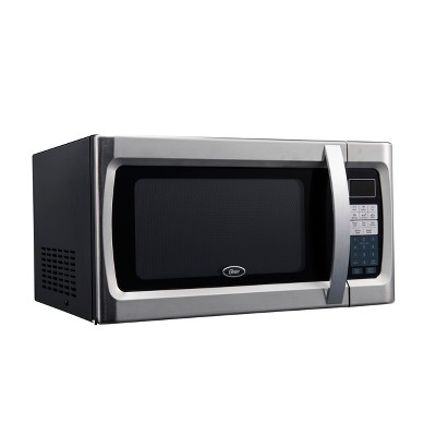 oster ogzf1301 1 3 cu ft 1100w microwave oven black ogzf1301